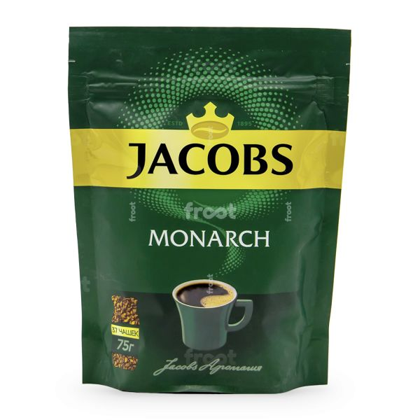 Кофе растворимый Jacobs Monarch, 75 г